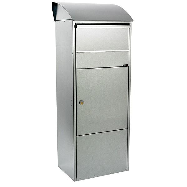 Paketbriefkasten Allux 820, mit Pultdach