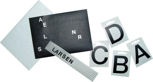 """Briefkastenbeschriftungen """"Set kleine Buchstaben, 13 mm - 208 Stück"""""""