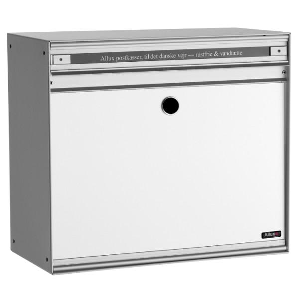 Briefkasten Allux SC200 mit Stahl-Front