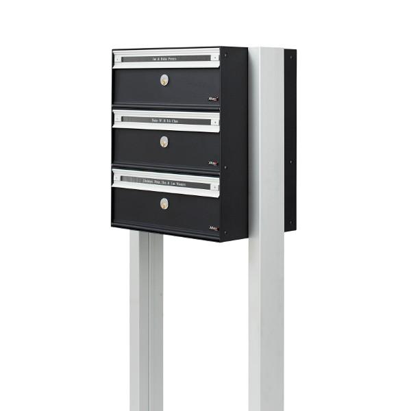 Ständer für Allux Anlagenbriefkästen PC & SC